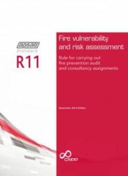 R11 APSAD standard - Fire vulnerability and risk assessment